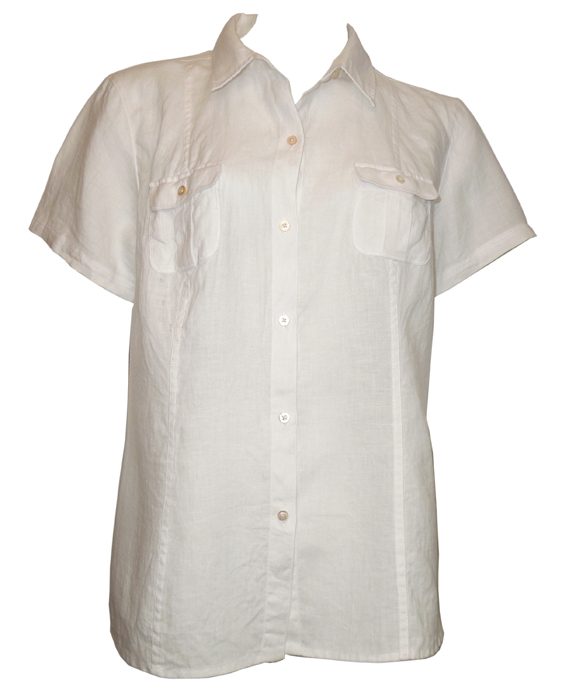 Tommy Bahama Two Palms Short Sleeve Shirt - White