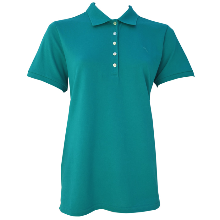 Tommy Bahama New Pardise Polo Shirt - Palm Coast Teal