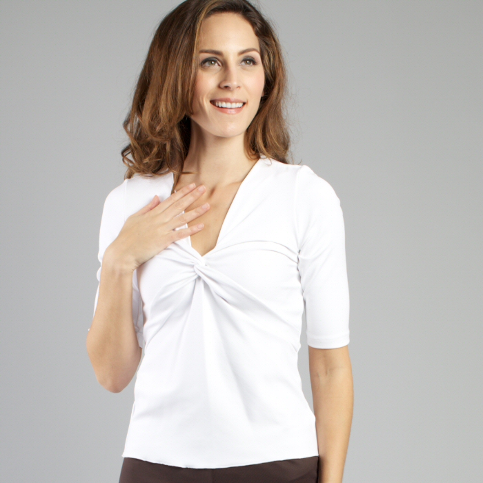 Carilyn Vaile Medium Sleeve Twist Front