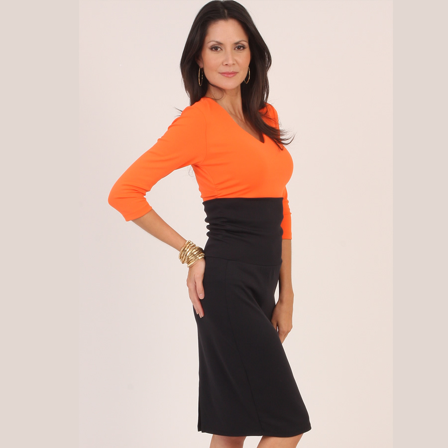 Carilyn Vaile Pencil Skirt- Black