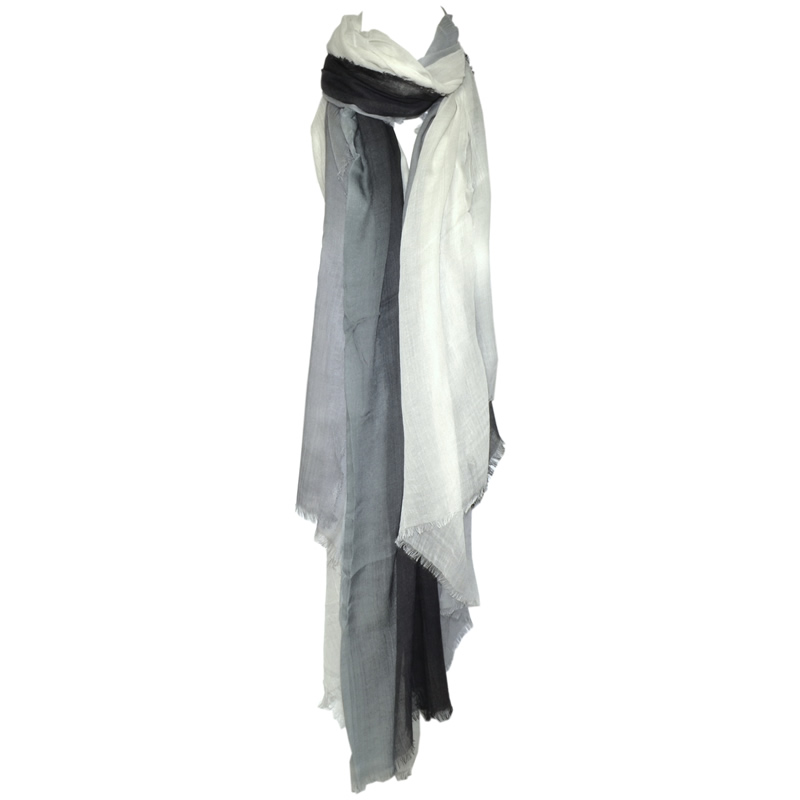 Blue Pacific Fashion Dream Scarf - Black/ White/ Grey