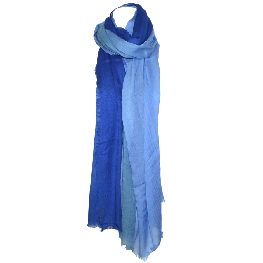 Blue Pacific Fashion Dream Scarf - Denim/ Cobalt /Blue
