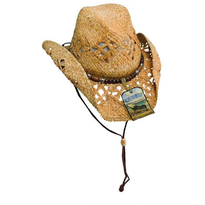 Blue Chair Bay by Kenny Chesney Outback Raffia Hat