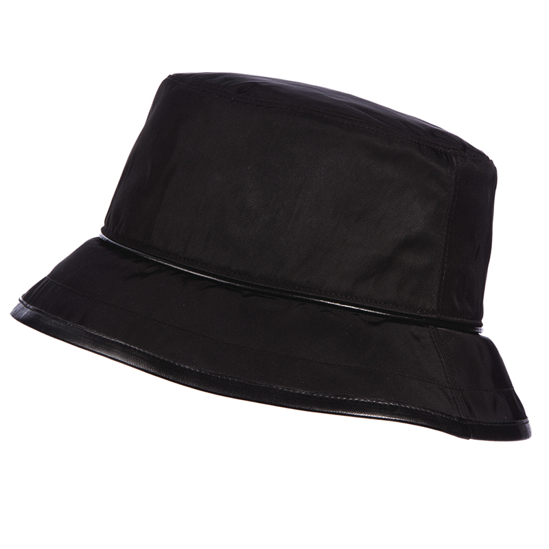 Scala Deluxe Rain Bucket Hat - Black