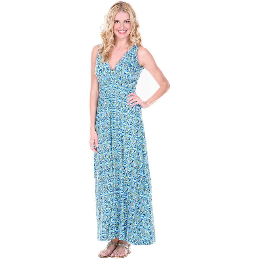Zen-Knits Maxi Dress - Caymen