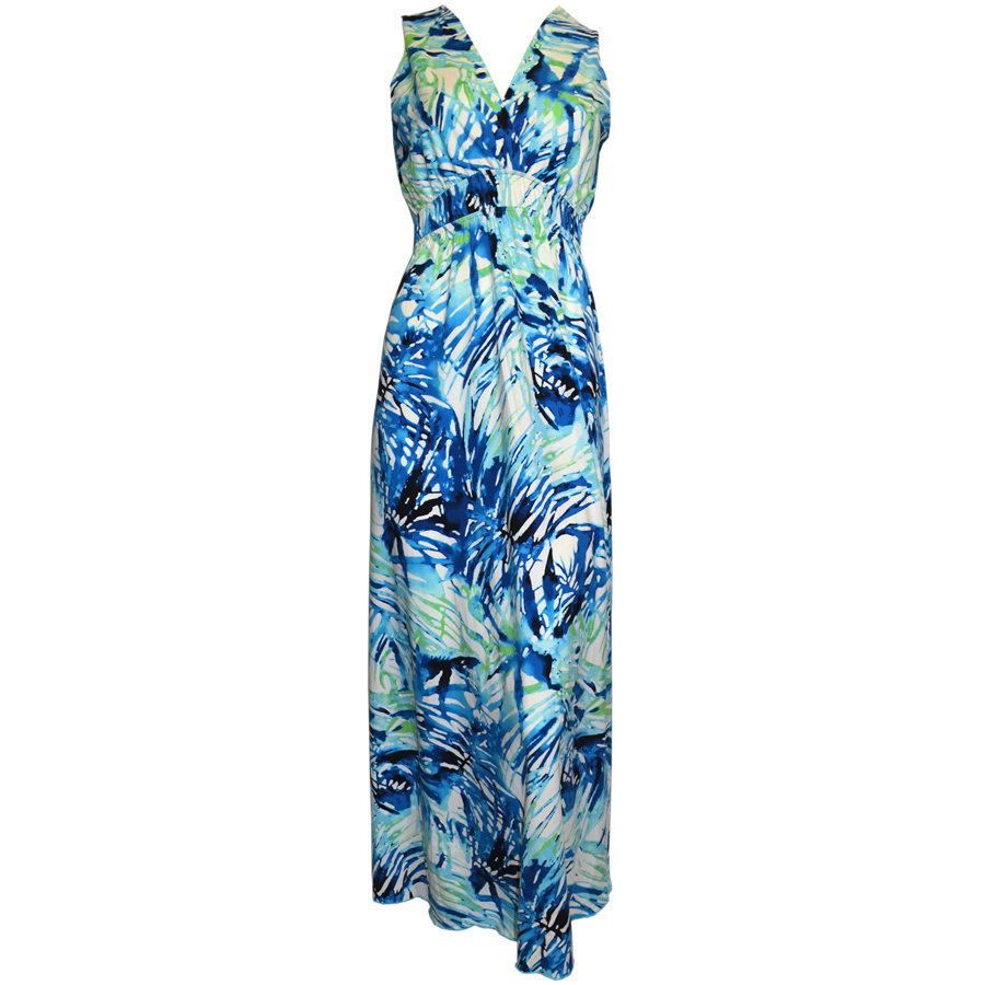 Zen-Knits Maxi Dress - Tropic