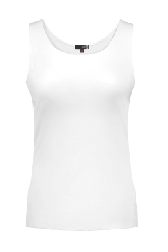 JudyP Relaxed Fit Tank - White