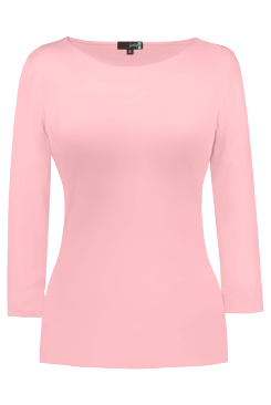 JudyP Sabrina 3/4 Sleeve - Crystal Rose