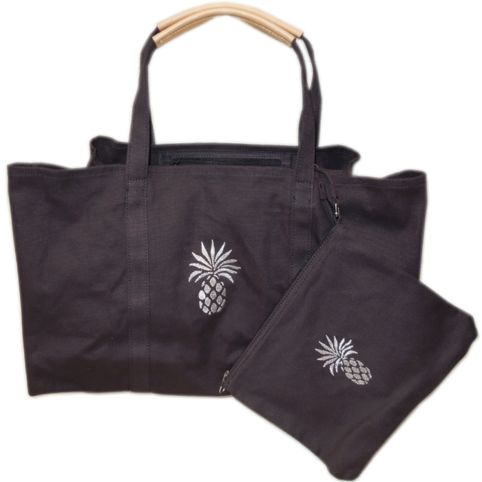 Tommy Bahama Relax Pineapple Solid Tote Set