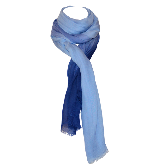 Tommy Bahama Ombre Scarf- Dockside Blue