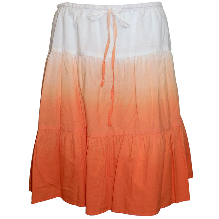 Tommy Bahama Dip Dyed Tiered Skirt-Valencia