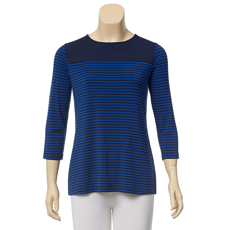 Tommy Bahama Amelia Stripe Color Block Top