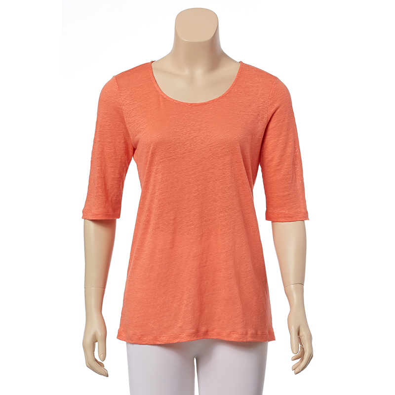 Tommy Bahama Linnea Jersey Tee - Bright Coral