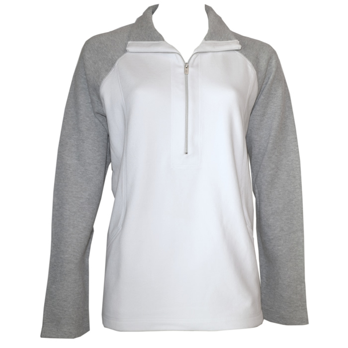 Tommy Bahama Lightweight Aruba ColorBlock Half-Zip Sweatshirt
