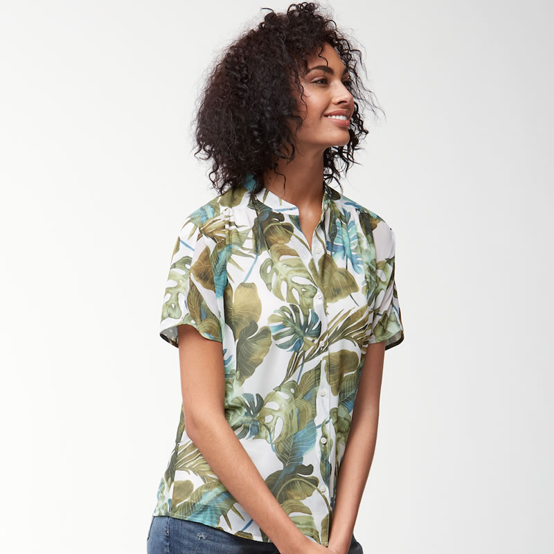 Tommy Bahama Villa Fronds Blouse