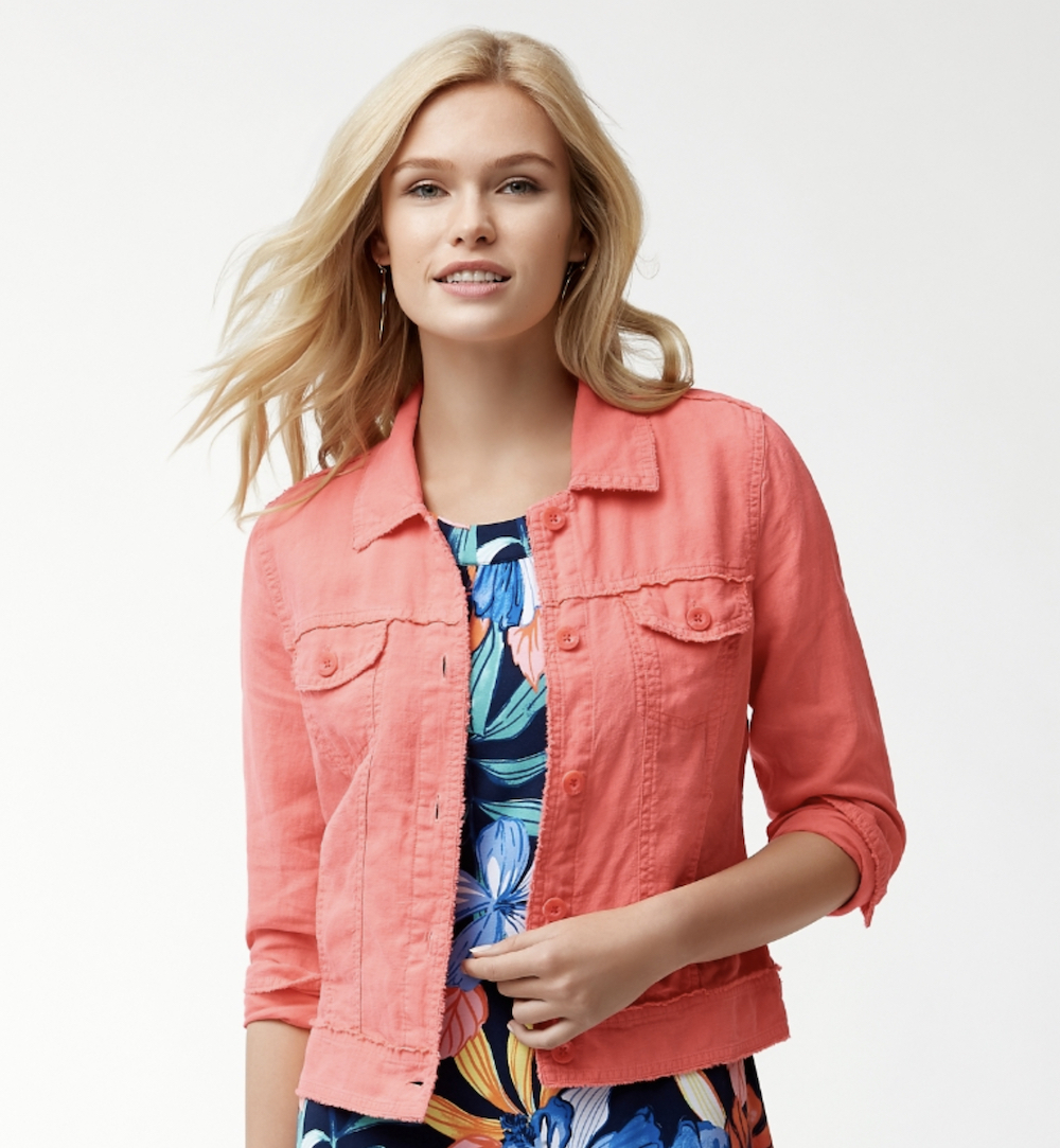 Tommy Bahama Two Palms Raw Edge Jacket - Fusion
