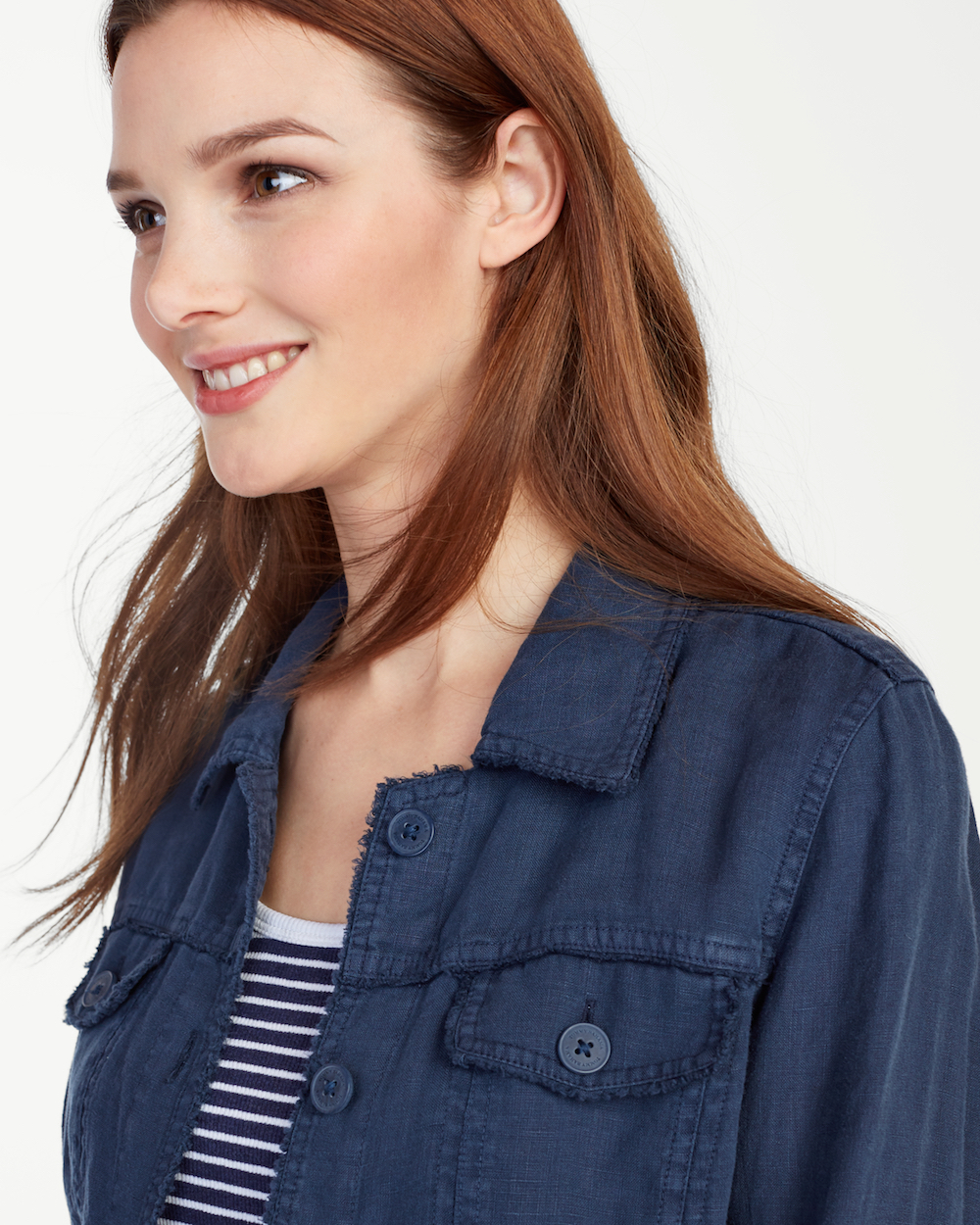 Tommy Bahama Two Palms Raw Edge Jacket - Ocean Blue