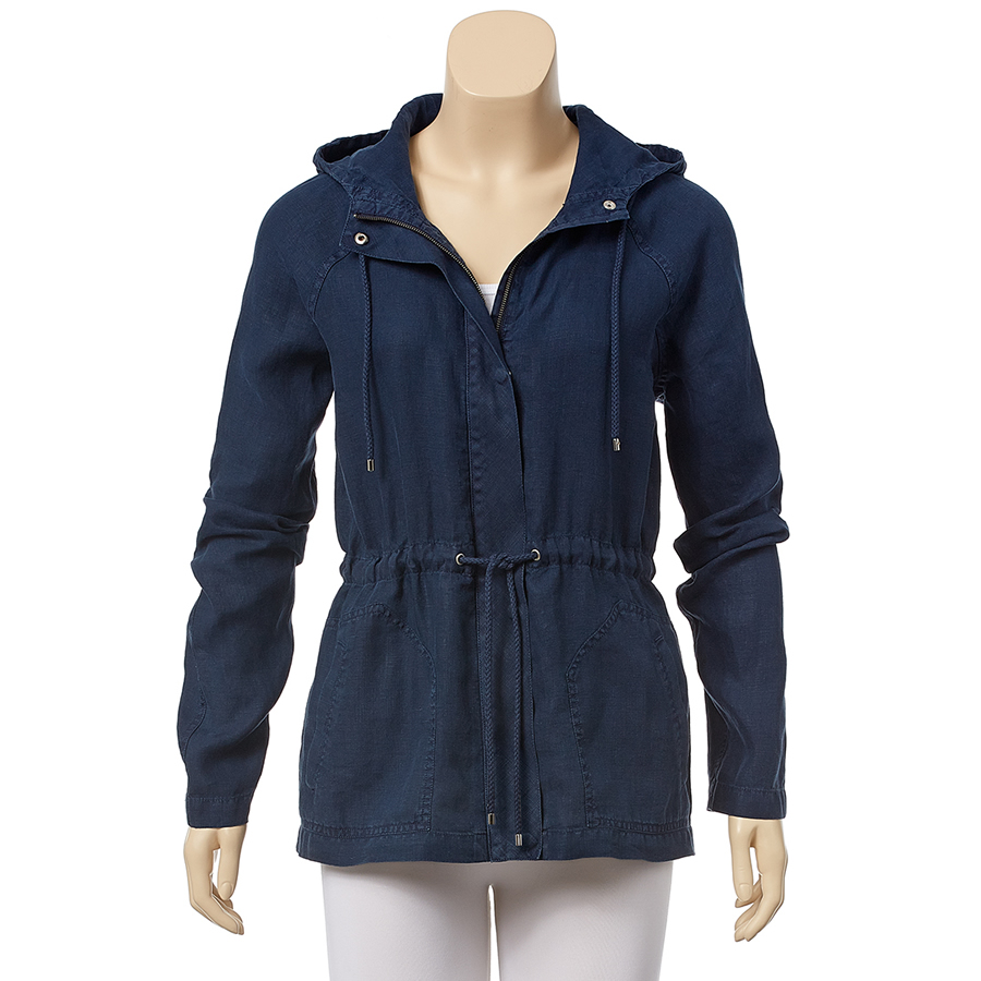 Tommy Bahama Two Palms Hooded Jacket - Ocean Deep