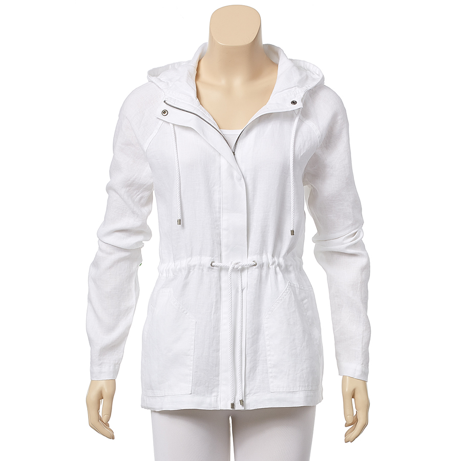 Tommy Bahama Two Palms Hooded Jacket - White