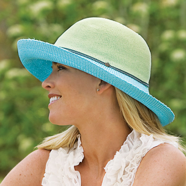 Wallaroo Victoria Two-Toned Hat