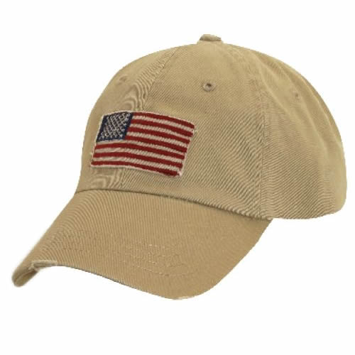 Dorfman Pacific Global Trends USA Panel Cap - Khaki