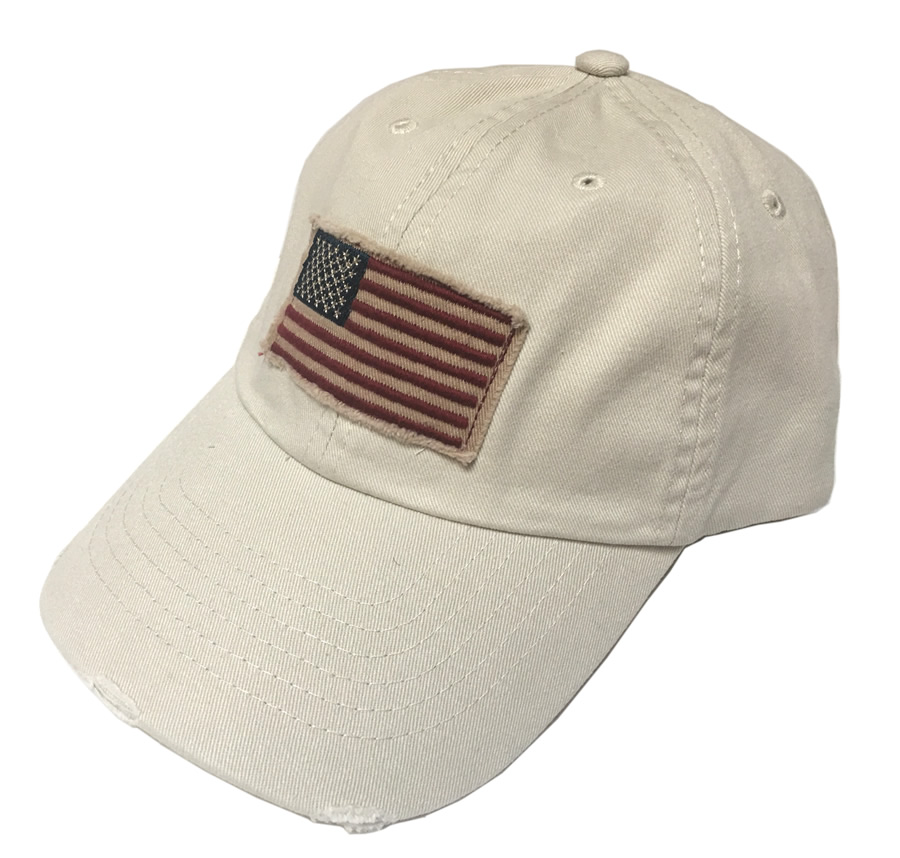 Dorfman Pacific Global Trends USA Panel Cap - Putty