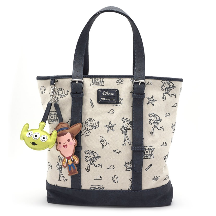 Loungefly Toy Story Canvas Tote Bag
